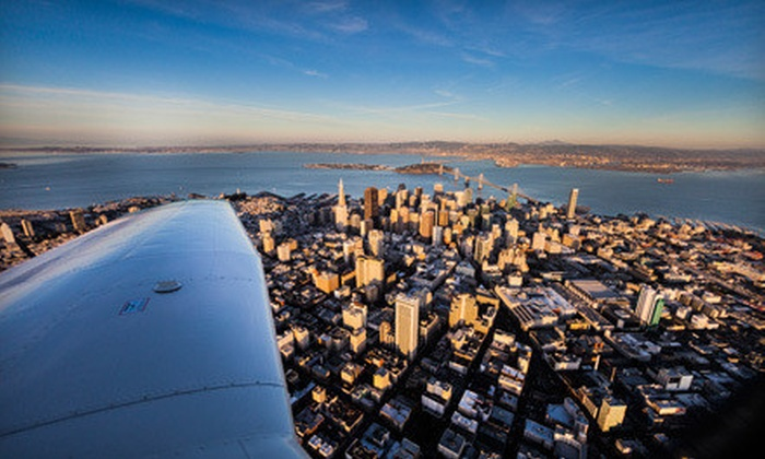 Fly Bay Area - San Carlos: Pacific Sky Tour or Ultimate Sky Tour in Private Airplane from Fly Bay Area (Up to 43% Off)