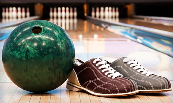 Royal Lanes - Goose Creek: Three Games of Bowling, Shoe Rentals, Pizza, and Soda for Two or Four at Royal Lanes (Up to 53% Off)