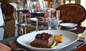 Meritage Steakhouse: Three-Course Dinner for Two or Four at Meritage Steakhouse (Up to 46% Off)