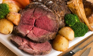 The King's Head: Roast Dinner with Salad and Dessert for Two or Four at The King's Head (Up to 38% Off)