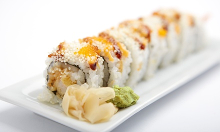 Sushi and Japanese Dinner Cuisine for Two or Four or More People at Sumo Lounge (34% Off)
