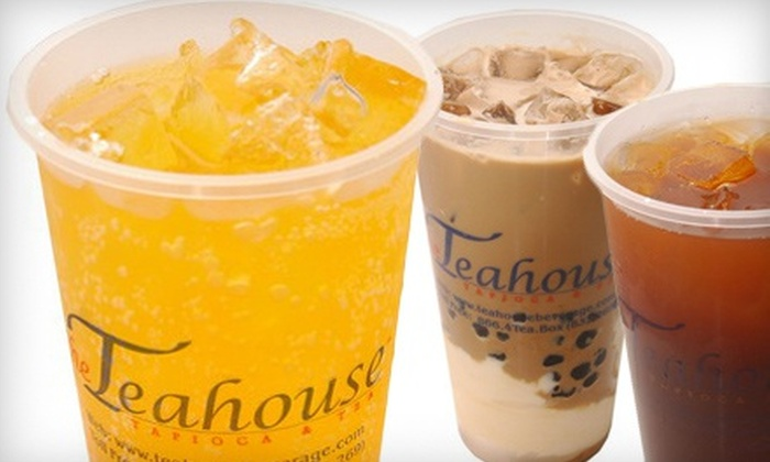 The Teahouse Tapioca and Tea - Multiple Locations: $10 for $20 Worth of Tea, Coffee, Juice, and Tapioca at The Teahouse Tapioca and Tea