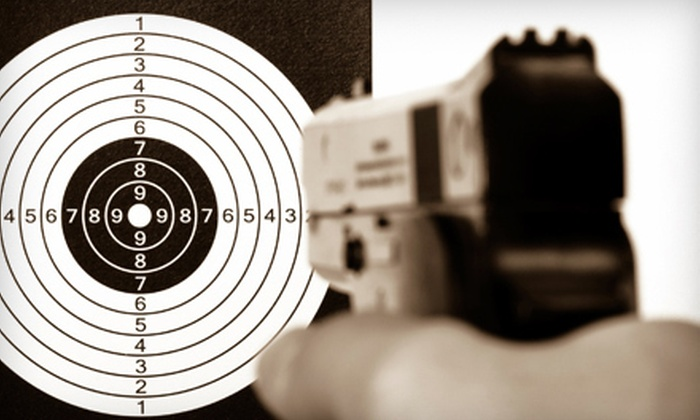 Straight Shooter - Lubbock: $75 for a Texas Concealed Handgun Class at Straight Shooter ($150 Value)