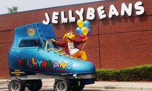 Jellybeans Super Skate Center: Roller Skating for Two or Roller Skating Package for Four at Jellybeans Super Skate Center (Up to 48% Off)