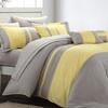 10-Piece Elegant Festive Comforter Set Including Sheets