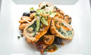 Gallo Nero: Italian Dinner with Appetizers, Entrees, and Wine for Two or Four at Gallo Nero (Up to 49% Off)