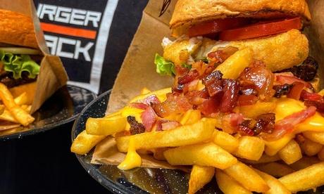 Menú para 2 o 4 personas con entrante, hamburguesa, postre y bebida en Burger Shack (hasta 54% de descuento)