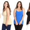 6-Pack of Women's Plus Size Slimming Camisoles