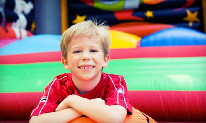 Xcite Family Fun Center - Sioux Falls: $25 for $50 Worth of Inflatables Play, Arcade Tokens, and Snacks at Xcite Family Fun Center