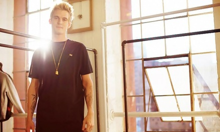 Aaron Carter at Baltimore Soundstage on Tuesday, February 17 (Up to 46% Off)