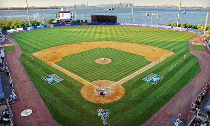 Staten Island Yankees - Richmond County Bank Ballpark: $15 for Staten Island Yankees Game Package at Richmond County Bank Ballpark (Up to $49.25 Value). Three Games Available.