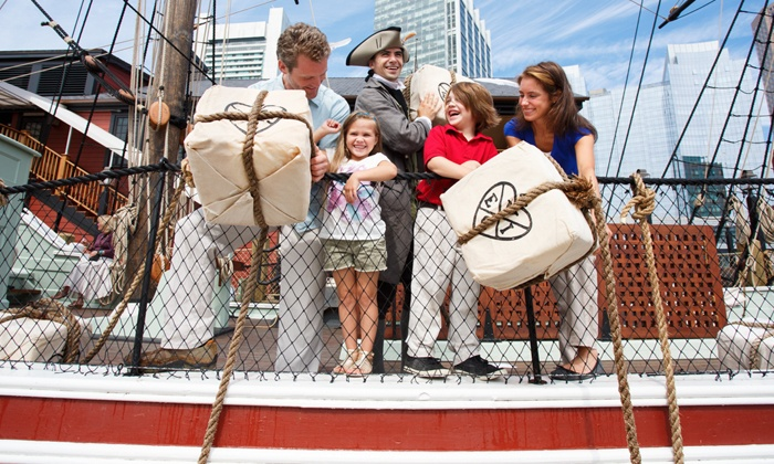 Boston Tea Party Ships Museum - Downtown Boston: Visit for One, Two, or Four to Boston Tea Party Ships & Museum (Up to 50% Off)