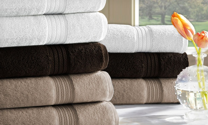 Kassadesign Egyptian-Cotton Towel Set: $28.99 for a Kassadesign Six-Piece 100% Egyptian-Cotton Towel Set ($80 List Price). 3 Colors Available. Free Shipping.