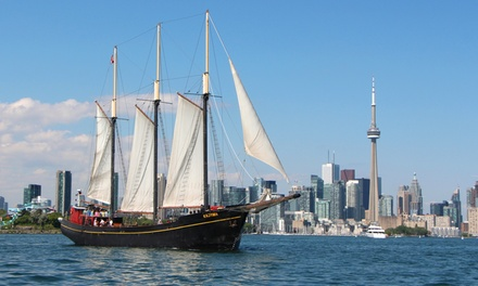 "$14 for a Two-Hour Sail on the Tall Ship ""Kajama"" from Tall Ship Cruises Toronto (Up to $27.06 Value)"