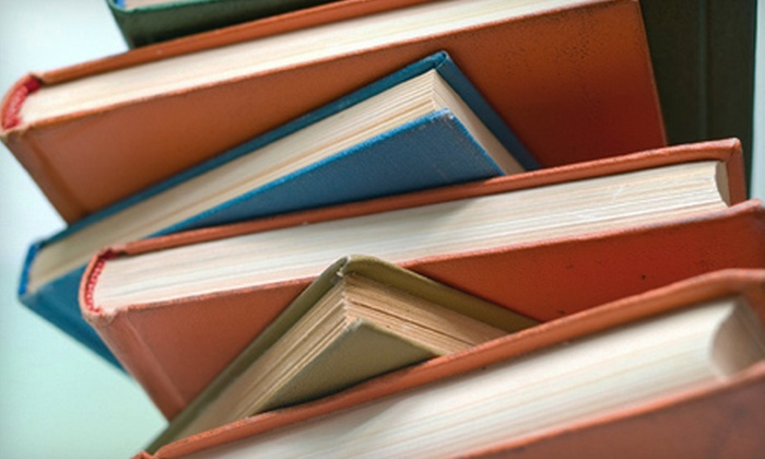 Bank of Books - Multiple Locations: New and Used Books at Bank of Books (Up to 56% Off). Two Options Available.