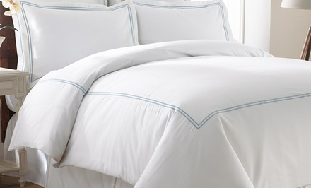 Italian Hotel Collection 3- or 5-Piece Duvet Set. Multiple Sizes and Colors Available from $54.99–$79.99. Free Returns.