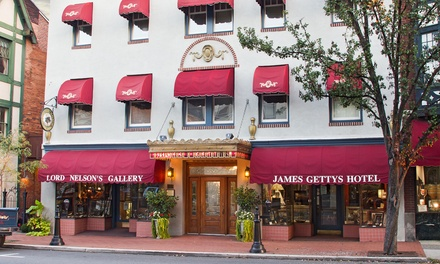 Stay at James Gettys Hotel in Gettysburg, PA. Dates into March