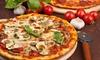 Pizza au choix pour 2 à 6 personnes