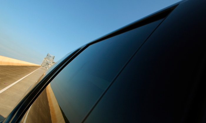 Front Two Windows or Full Car Tinting with Standard Smoke or Darkmatter Ceramic Film at Royal Tinting (Up to 56% Off)