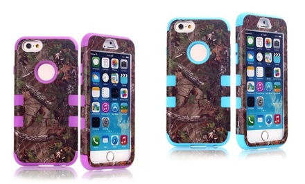 iPM Camouflage Real Tree Rugged Protective Case for iPhone 5/5s/5c or 6 from $7.99–$11.99