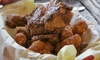 Britt's BBQ - Multiple Locations: Smoked Fried Chicken Meal with Cornbread and Choice of Sides for Two or Four at Britt's BBQ (45% Off)