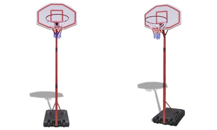 Panier de basket réglable avec poteau inclus (SaintEtienne)