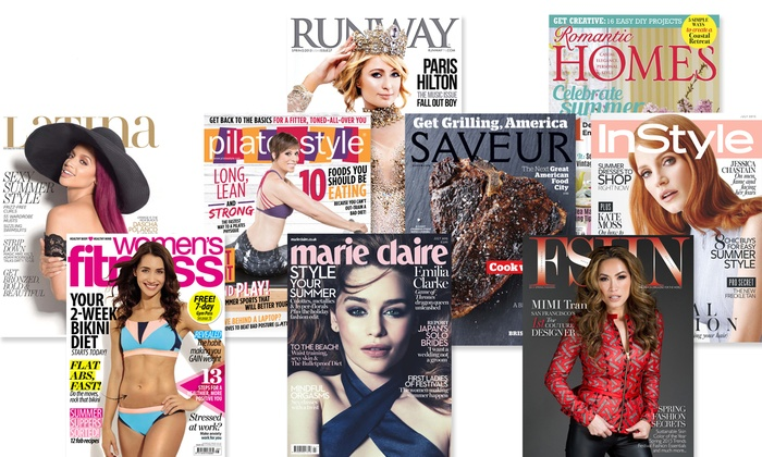 One-Year Digital Magazine Subscription from Magzter (Up to 50% Off). 10 Options Available.