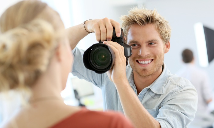 P.E. Images, LLC - Preston Hollow: $87 for an On-Location Shoot for Individual Headshots with Three Poses from P.E. Images LLC ($175 Value)
