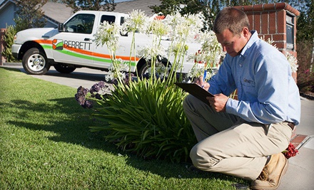 $39 for One Exterior and Interior Pest-Control Treatment from Berrett Pest & Termite Control ($160 Value)