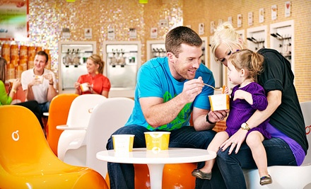 $12 for Four $6 Vouchers for Frozen Yogurt at Orange Leaf Frozen Yogurt (a $24 Total Value)