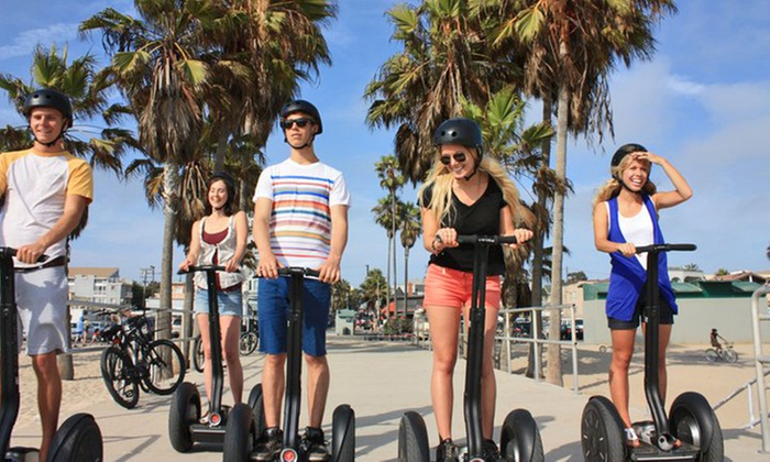 Segway Los Angeles - Multiple Locations: Santa Monica, San Pedro, or Long Beach Segway Tour from Segway Los Angeles (45% Off)