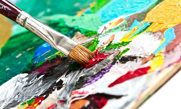 Martinis and Brushes - Multiple Locations: Entry for One or Two to a Two-Hour Martinis and Brushes Painting Event (Up to 56% Off)