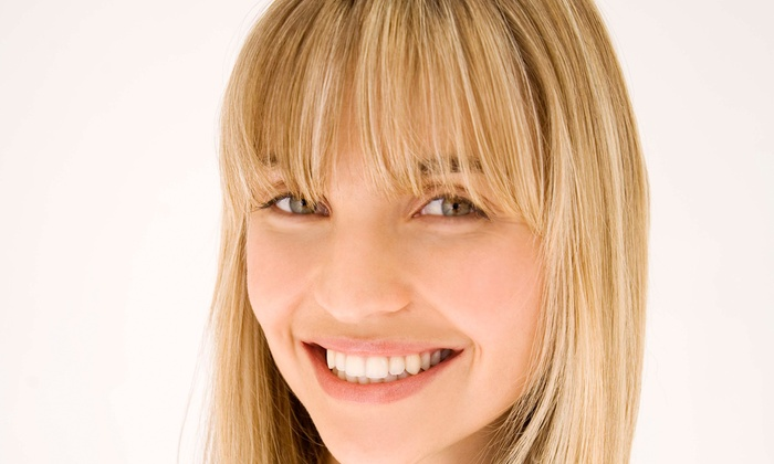 Wrapped N Style - E. E. Smith: Haircut, Style, and Deep-Conditioning Treatment with Option for Partial Highlights at Wrapped N Style (Up to 53% Off)