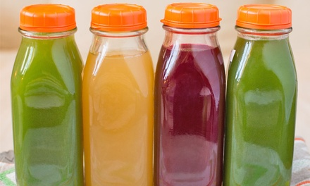 The Juice Cleanse: Three-, Five- or Seven-Day Programme from £69 (Up to 65% Off) (London)