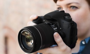 Cain Images Photographic Studio: One or Three Intro to Digital Photography Workshops for One or Two at Cain Images Photographic Studio (Up to 82% Off)
