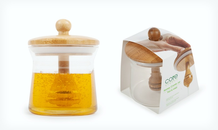 Core Bamboo Honey Storage Jar 9 99 For 21 List
