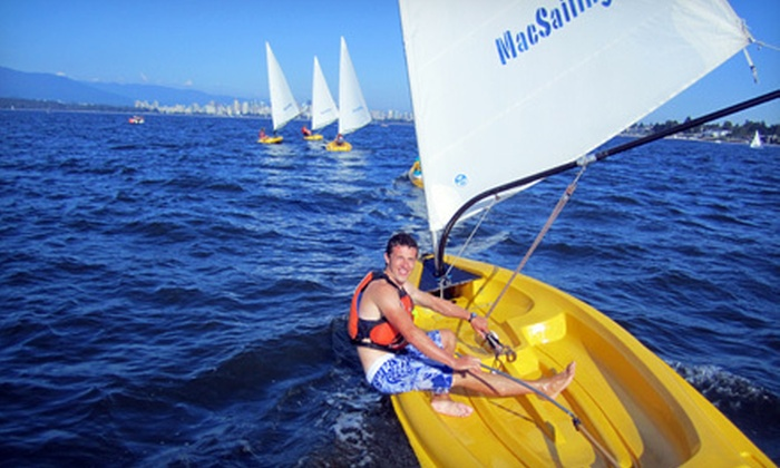 MacSailing - Jericho Beach: Three-Hour Sailing Lesson for 1 Person or up to 10 People at MacSailing (Up to 54% Off)