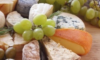 Cheese Tasting With Wine and Charcuterie For Two at Cheese & Cheers (33% Off)