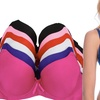 6-Pack of Women's Shaping Padded Bras with Adjustable Shoulder Straps