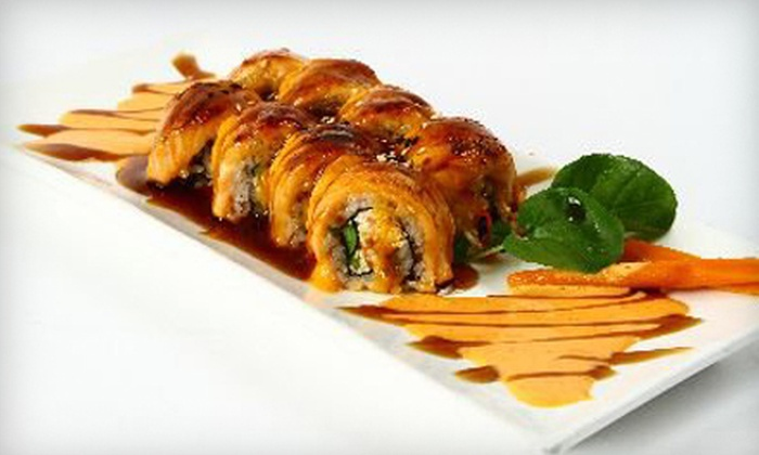 Bamboo Grill & Sushi - Seal Beach: $10 for $20 Worth of Japanese Food at Bamboo Grill & Sushi