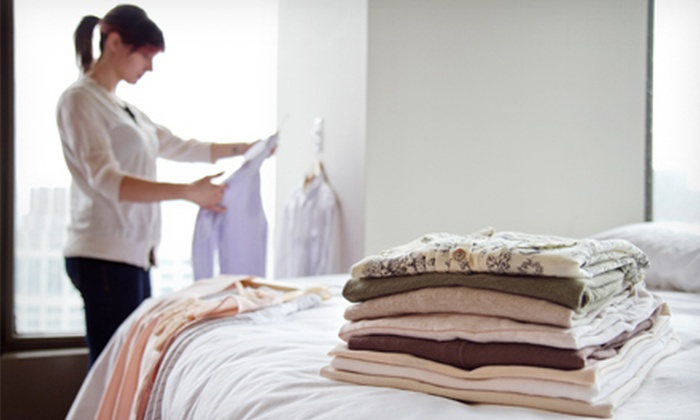 National Cleaners & Yorgey's Fine Cleaning - Multiple Locations: $20 for $40 Worth of Dry Cleaning at National Cleaners & Yorgey's Fine Cleaning
