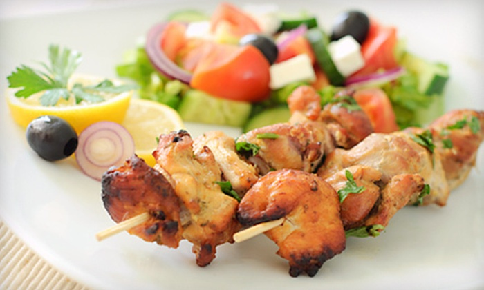 Nikoz Fusion Grill - Sugar Land: Fusion Cuisine for Lunch or Dinner, or Catering Services at Nikoz Fusion Grill (Half Off)