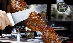 Churrascaria La Ventura Carnes e Massas: Rodízio de carnes, pratos quentes, saladas, massas e sobremesa para 1, 2 ou 4 pessoas na La Ventura – São Pedro