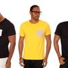 Men's Contrast-Pocket T-Shirts
