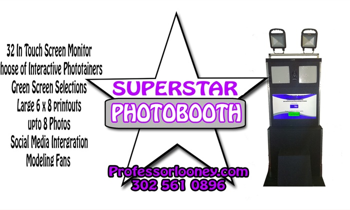 B.A. Looney & Co. - Wilmington-Newark: Up to 55% Off Photo booth rental services at B.A. Looney & Co.