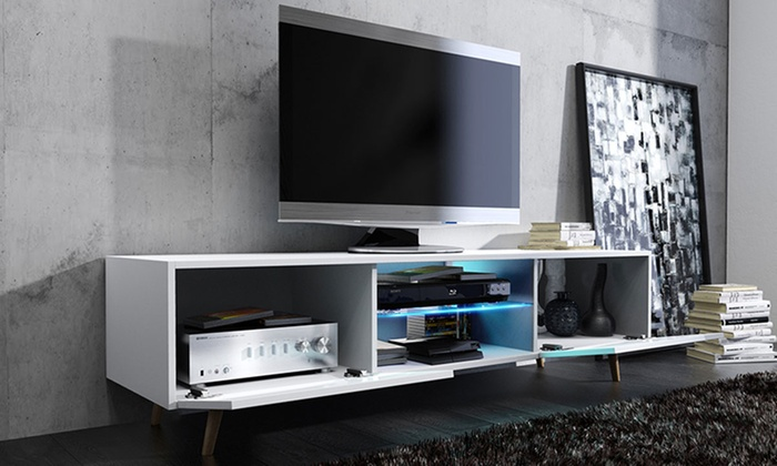 Mueble de TV moderno estilo escandinavo | Groupon Goods - photo#42