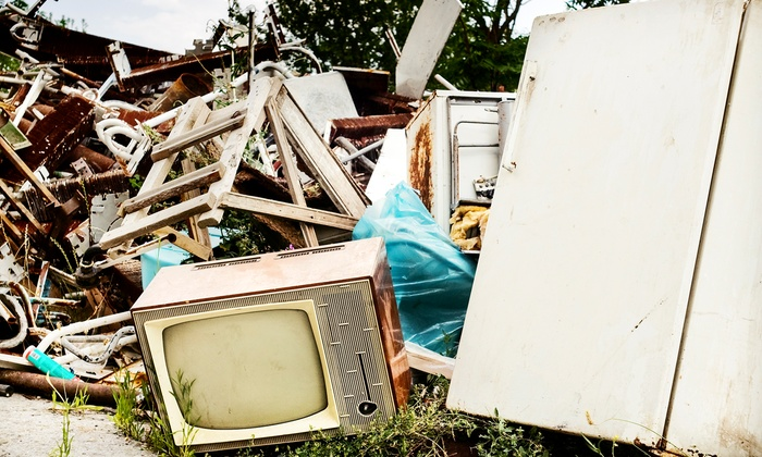 LP Cleanout - Denver: 4.5 or 8 Cubic Yards of Junk Removal from LP Cleanout (Up to 59% Off)