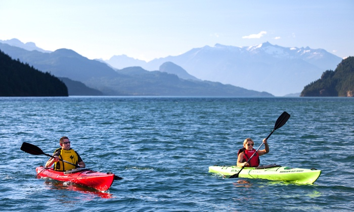 Harrison Eco Tours - Harrison Hot Springs: 2-Hour Guided Kayak Tour for One, Two, or Four, or Private Tour for Up to Eight (Up to 63% Off)