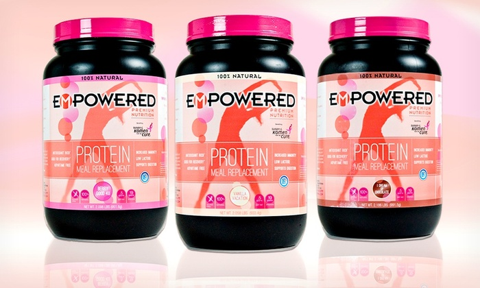 Empowered Premium Nutrition Protein for Women: Empowered Premium Nutrition Protein Powder for Women. Multiple Flavors Available. Free Shipping.