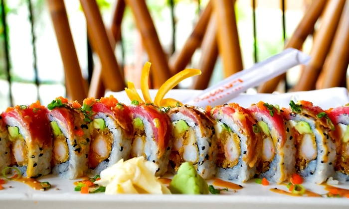 Asia Bay - Las Olas: Upscale Thai Cuisine and Sushi for Lunch or Dinner at Asia Bay (Up to 45% Off)